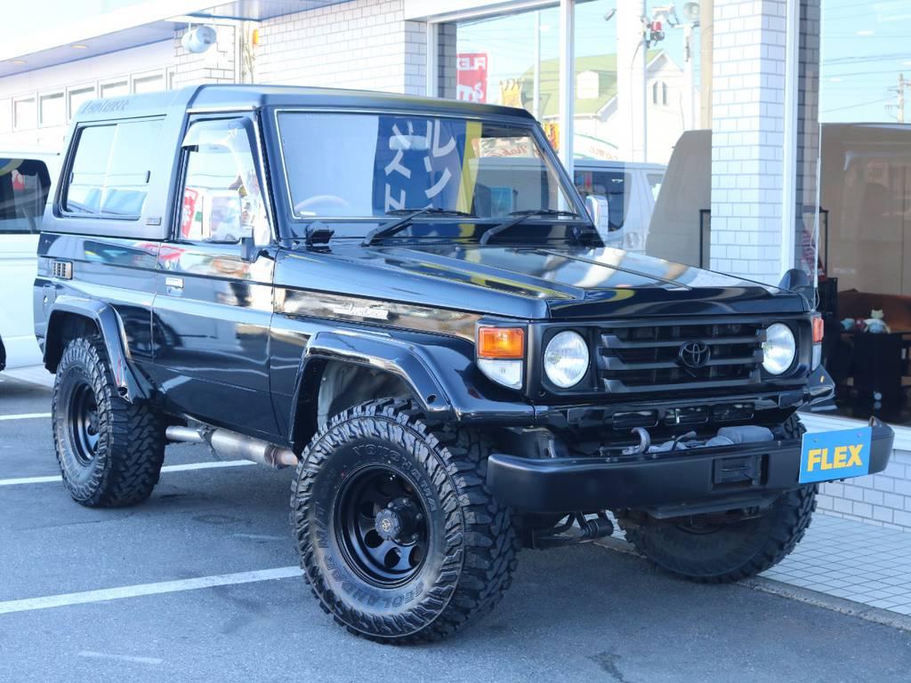 各種任意保険、オートローンも扱っておりますのでお気軽にご相談ください。 | トヨタ ランドクルーザー70 4.2 ZX FRPトップ ディーゼル 4WD
