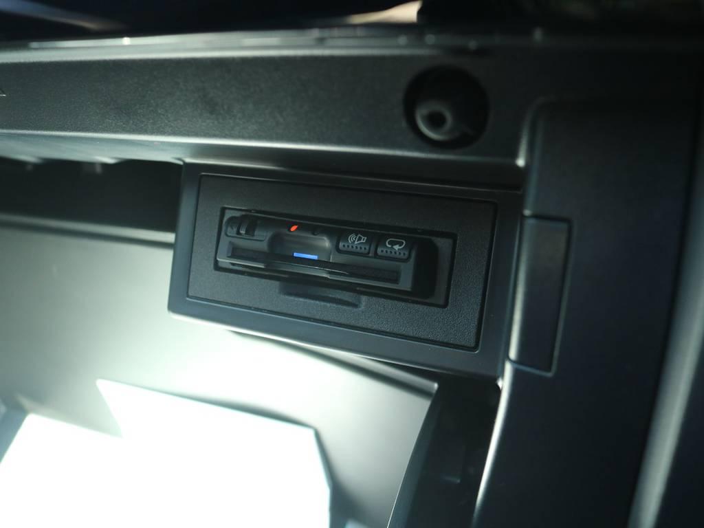 必需品のETCも新品装着! | トヨタ ランドクルーザープラド 2.8 TX ディーゼルターボ 4WD