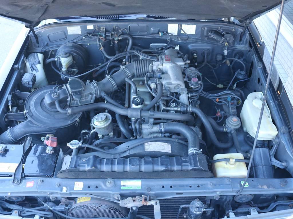 4.0Lのパワフルなエンジン搭載! | トヨタ ランドクルーザー60 62G ロールーフ