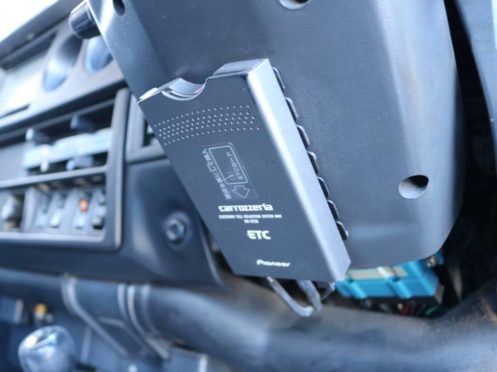 必需品のETCも装着済み! | トヨタ ランドクルーザー60 62G ロールーフ