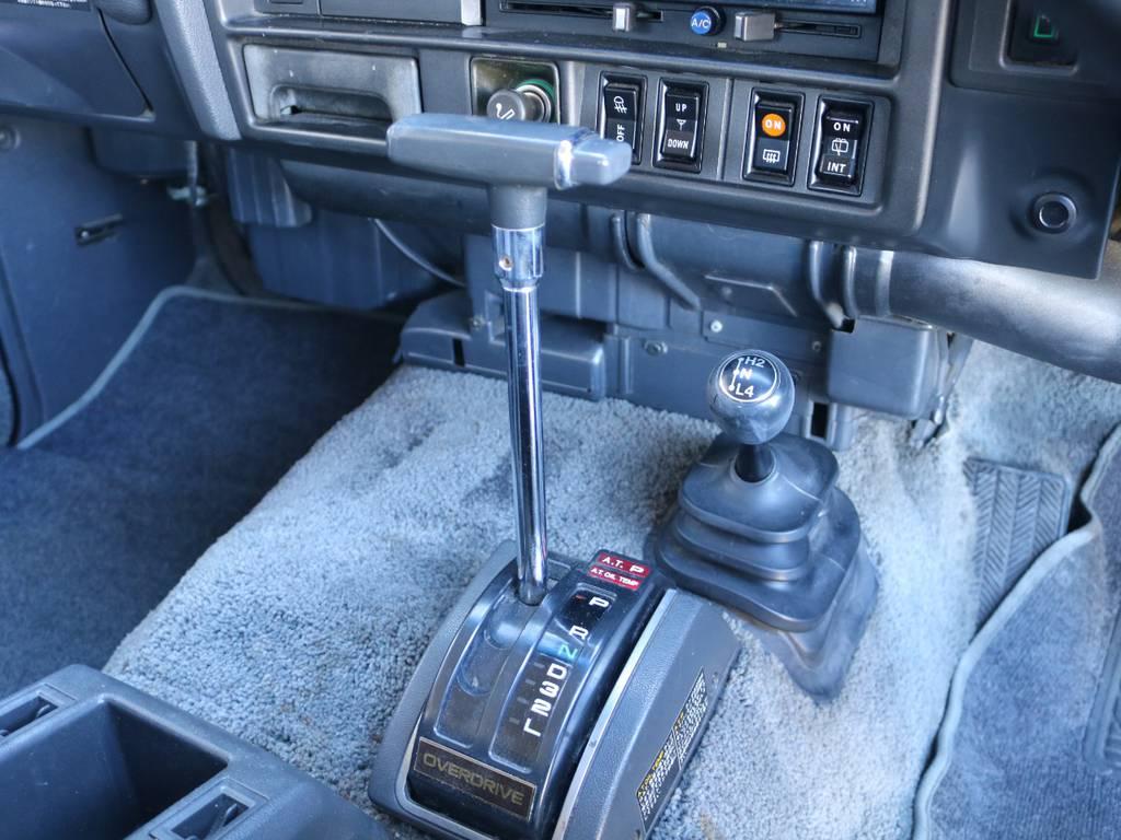 オートマですので運転も安心! | トヨタ ランドクルーザー60 62G ロールーフ