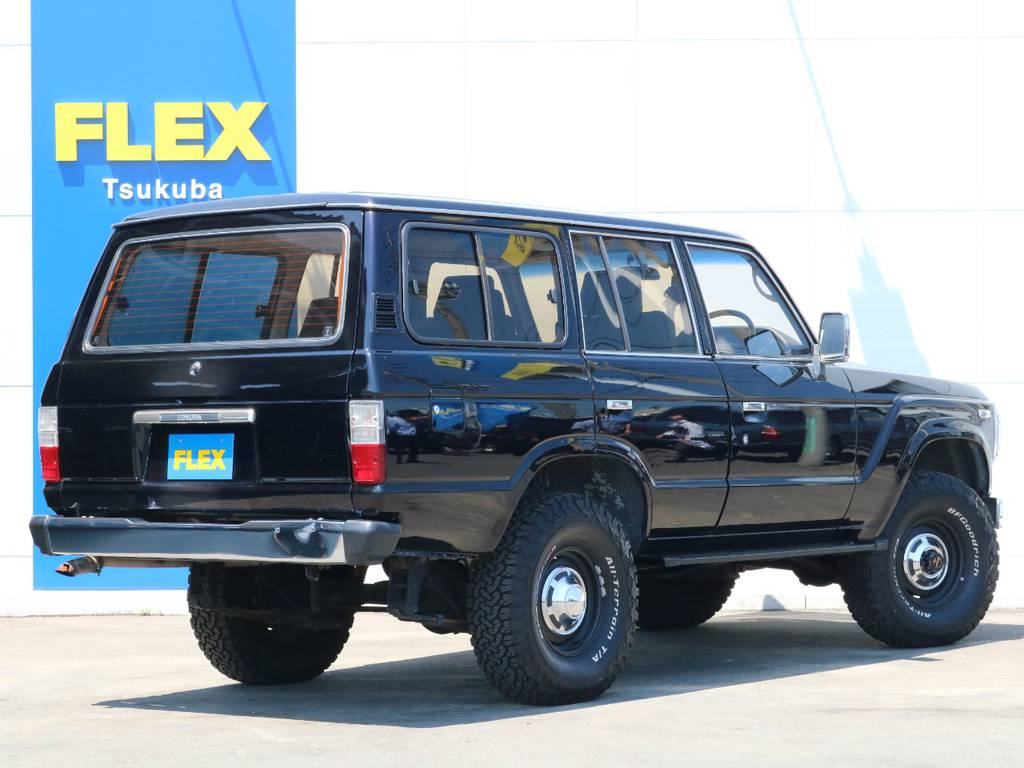 黒に見えてマジョーラカラーです!角度によって見方が変わるオシャレなカラー! | トヨタ ランドクルーザー60 62G ロールーフ