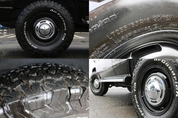 新品DEANクロスカントリー16インチAW&BF235ATタイヤ!   トヨタ ランドクルーザープラド 3.0 EXワイド ディーゼルターボ 4WD