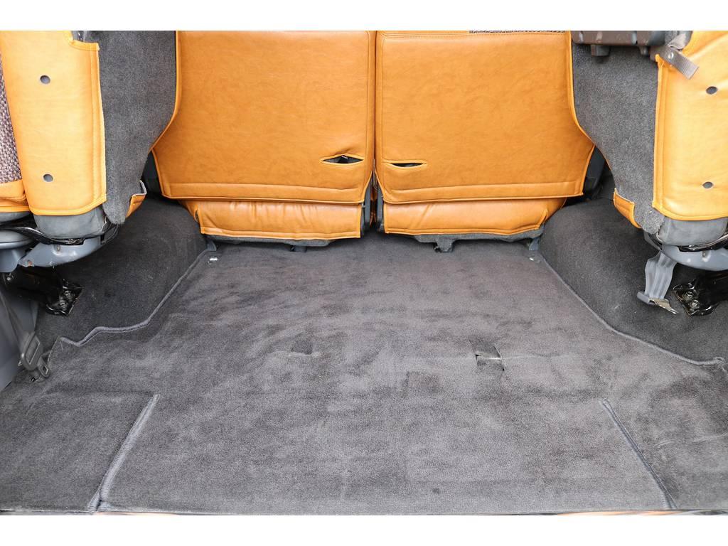 積荷も沢山詰め込めるラゲッジスペース!   トヨタ ランドクルーザープラド 3.0 EXワイド ディーゼルターボ 4WD