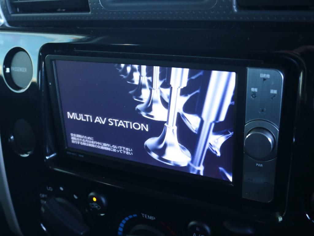 お好きな2DINナビも装着できます! | トヨタ FJクルーザー 4.0 ブラックカラーパッケージ 4WD 2インチUP 20インチAW