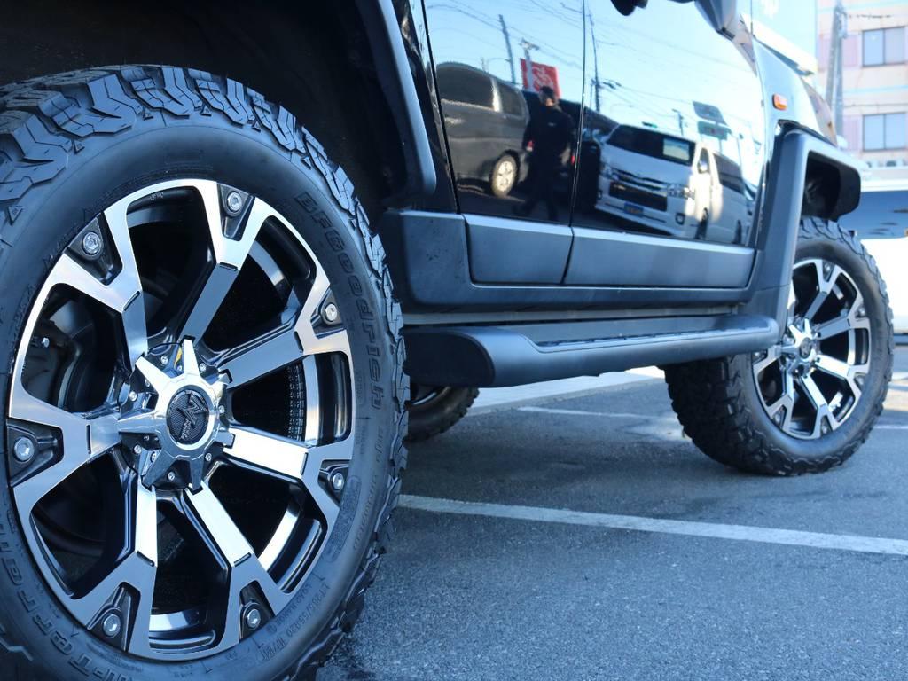 ナイトロパワー20インチAWにBFグッドリッチAT新品装着! | トヨタ FJクルーザー 4.0 ブラックカラーパッケージ 4WD 2インチUP 20インチAW