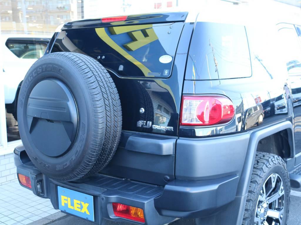 ご不明な点、ご質問等がございましたらお気軽にランクルつくば店スタッフまでお聞きください。 | トヨタ FJクルーザー 4.0 ブラックカラーパッケージ 4WD 2インチUP 20インチAW