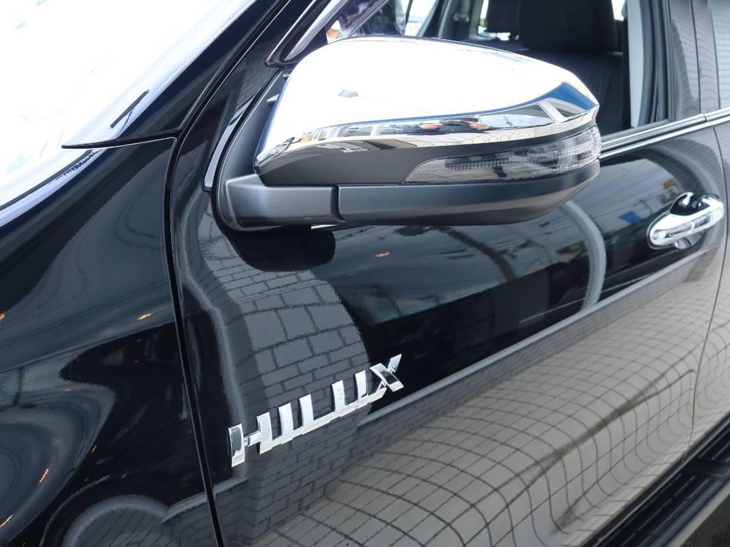 各部メッキパーツで高級感もございます! | トヨタ ハイラックス 2.4 Z ディーゼルターボ 4WD Z