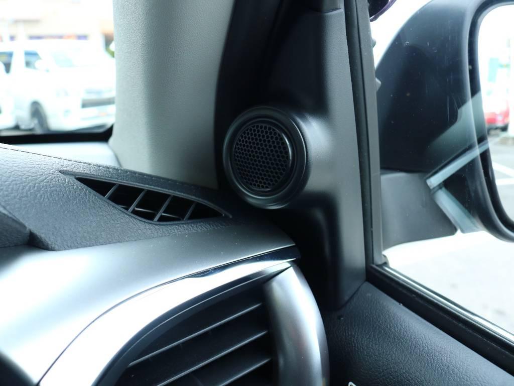 純正ツィーターも付いております! | トヨタ ハイラックス 2.4 Z ディーゼルターボ 4WD Z