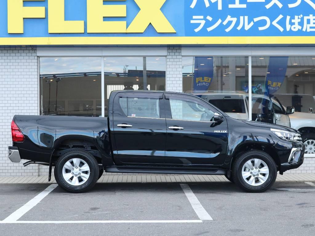 フレックスは全国共有在庫ですので専門知識でお客様にぴったりな1台をご提案致します!つくば店へのご来店お待ちしております! | トヨタ ハイラックス 2.4 Z ディーゼルターボ 4WD Z