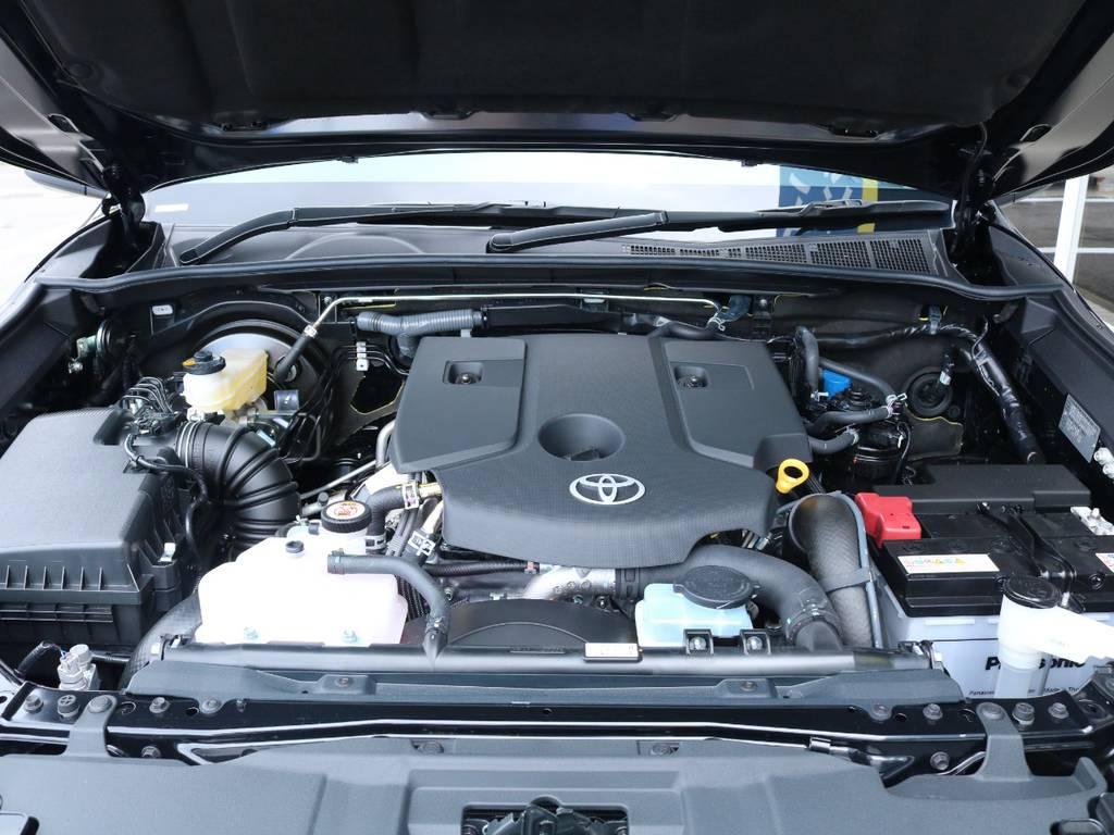 2.4Lのディーゼルターボエンジン搭載!リーズナブルな軽油で走行出来ます! | トヨタ ハイラックス 2.4 Z ディーゼルターボ 4WD Z