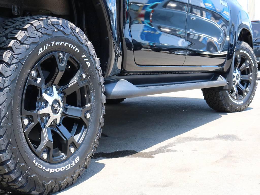 ナイトロパワー17インチAW装着! | トヨタ ハイラックス 2.4 Z ディーゼルターボ 4WD Z