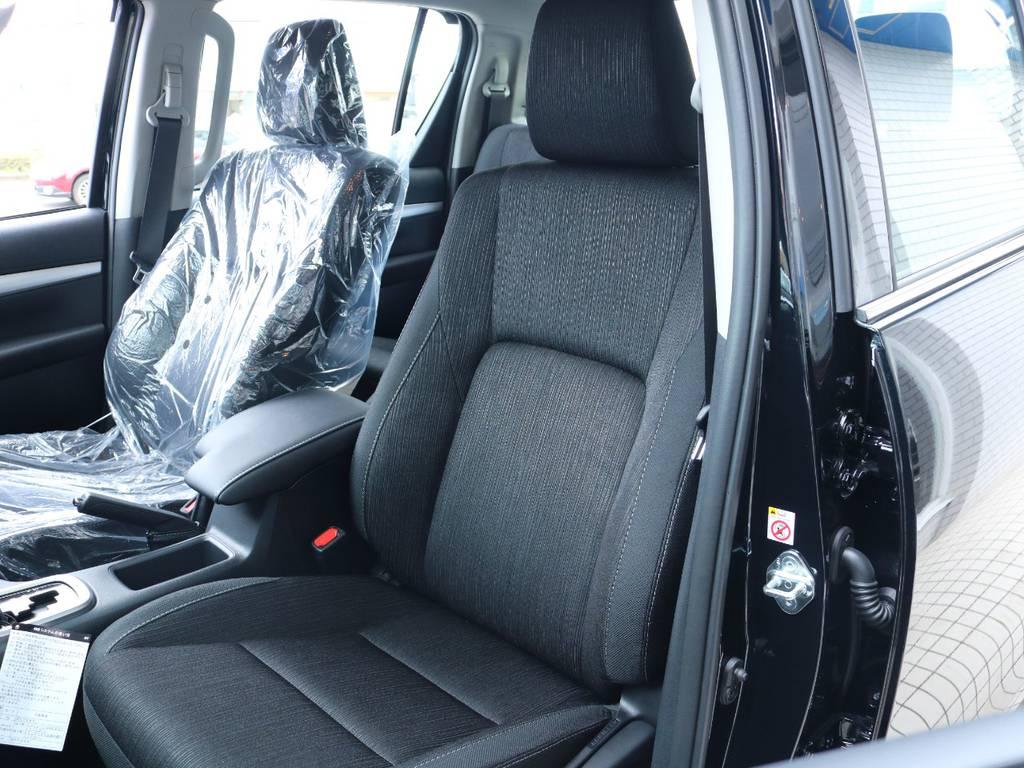高級感もあり上質なシート生地! | トヨタ ハイラックス 2.4 Z ディーゼルターボ 4WD Z