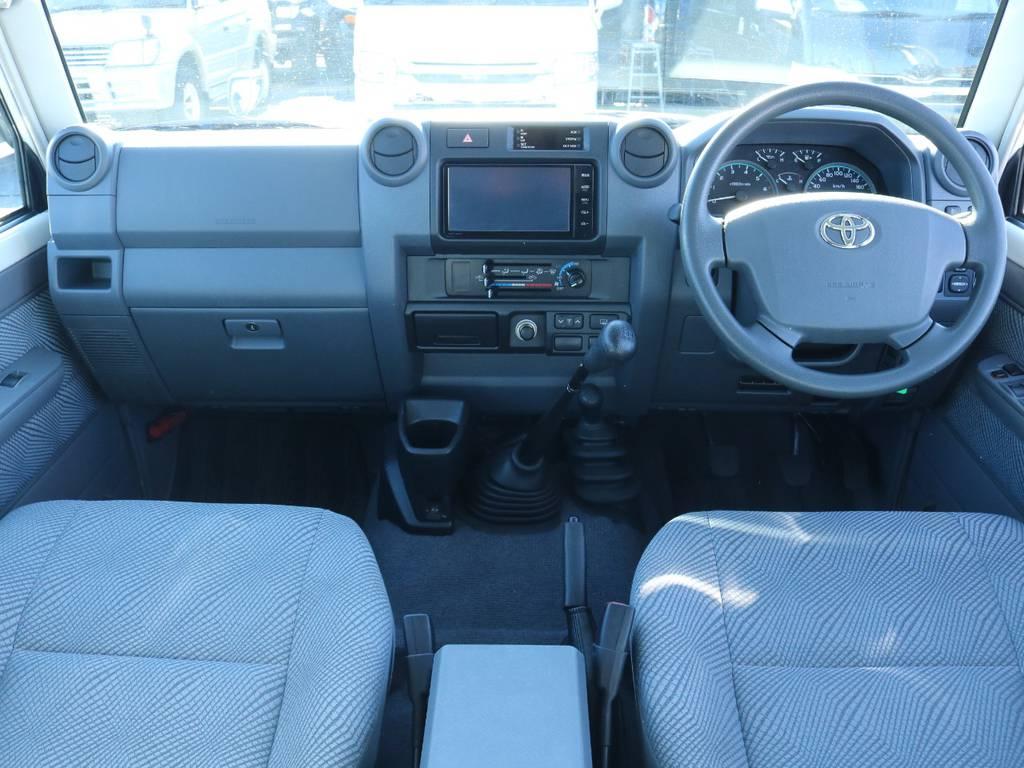 | トヨタ ランドクルーザー70 4.0 4WD 前後デフロック SDナビ
