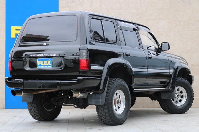 全車法定点検整備後の、更新型保証付き販売となります! | トヨタ ランドクルーザー80 4.5 VXリミテッド 4WD 5インチUP