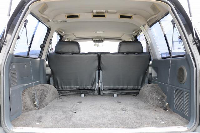 荷物も沢山詰め込めるラゲッジスペース! | トヨタ ランドクルーザー80 4.5 VXリミテッド 4WD 5インチUP