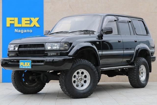 平成6年式ランクル80新入庫です! | トヨタ ランドクルーザー80 4.5 VXリミテッド 4WD 5インチUP