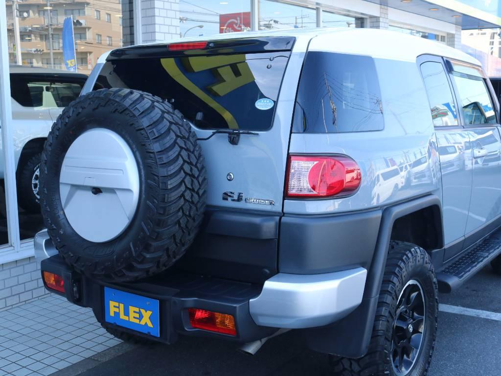 背面タイヤも合わせて交換済み! | トヨタ FJクルーザー 4.0 オフロードパッケージ 4WD 4.0 オフロードパッケージ 4WD