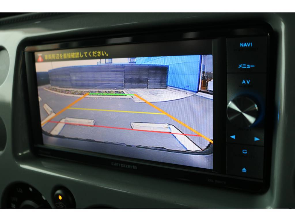 カロッツェリアのSDナビ&バックカメラ&ETC車載器も装着済!あると嬉しい装備です!