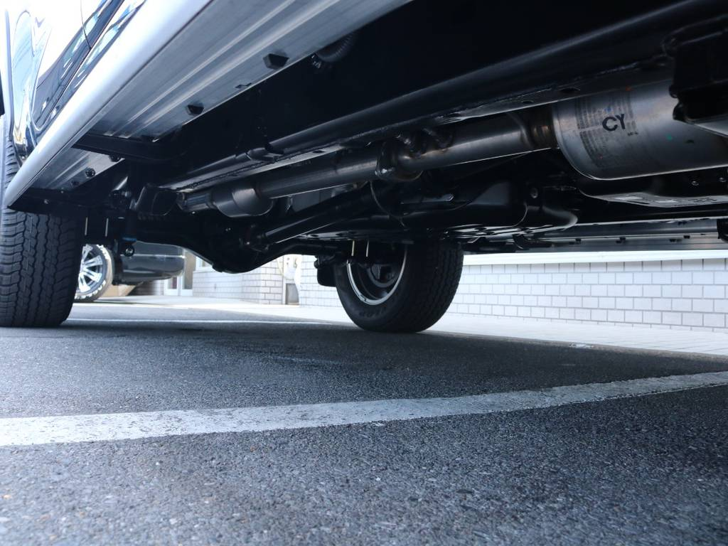 ご希望がございましたら下廻り防腐パスター仕上げもできます!お気軽にご相談ください! | トヨタ ハイラックス 2.4 Z ブラック ラリー エディション ディーゼルターボ 4WD Z Black Rally Edit