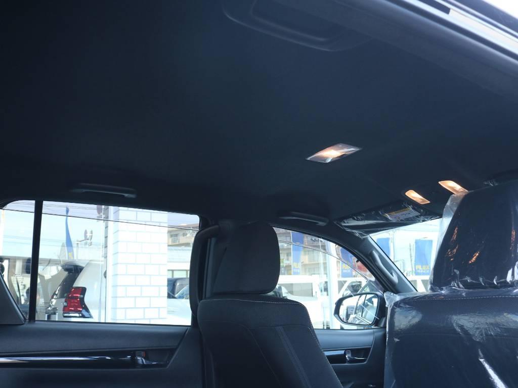 黒で統一されたブラック内装! | トヨタ ハイラックス 2.4 Z ブラック ラリー エディション ディーゼルターボ 4WD Z Black Rally Edit
