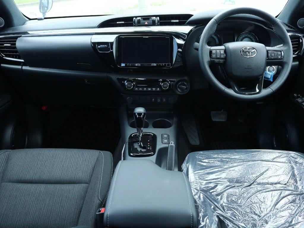 新車ですのでインパネの状態ももちろんグッド! | トヨタ ハイラックス 2.4 Z ブラック ラリー エディション ディーゼルターボ 4WD Z Black Rally Edit