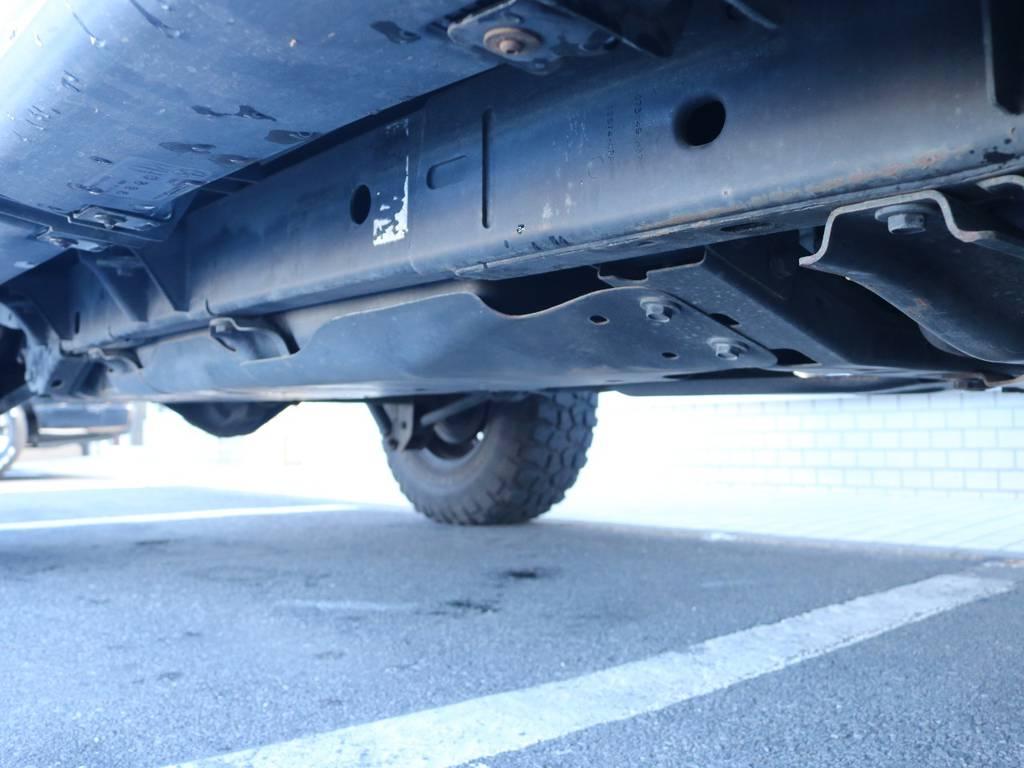 ご希望がございましたら下廻り防腐パスター仕上げもできます!お気軽にご相談ください!   ジープ ラングラー アンリミテッド スポーツ 4WD アンリミテッド スポーツ 4WD