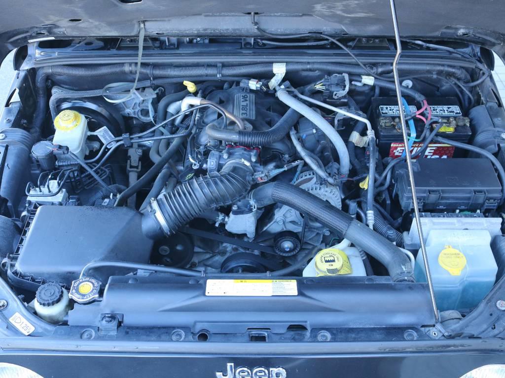 3.8Lのパワフルなエンジンが搭載済み!   ジープ ラングラー アンリミテッド スポーツ 4WD アンリミテッド スポーツ 4WD