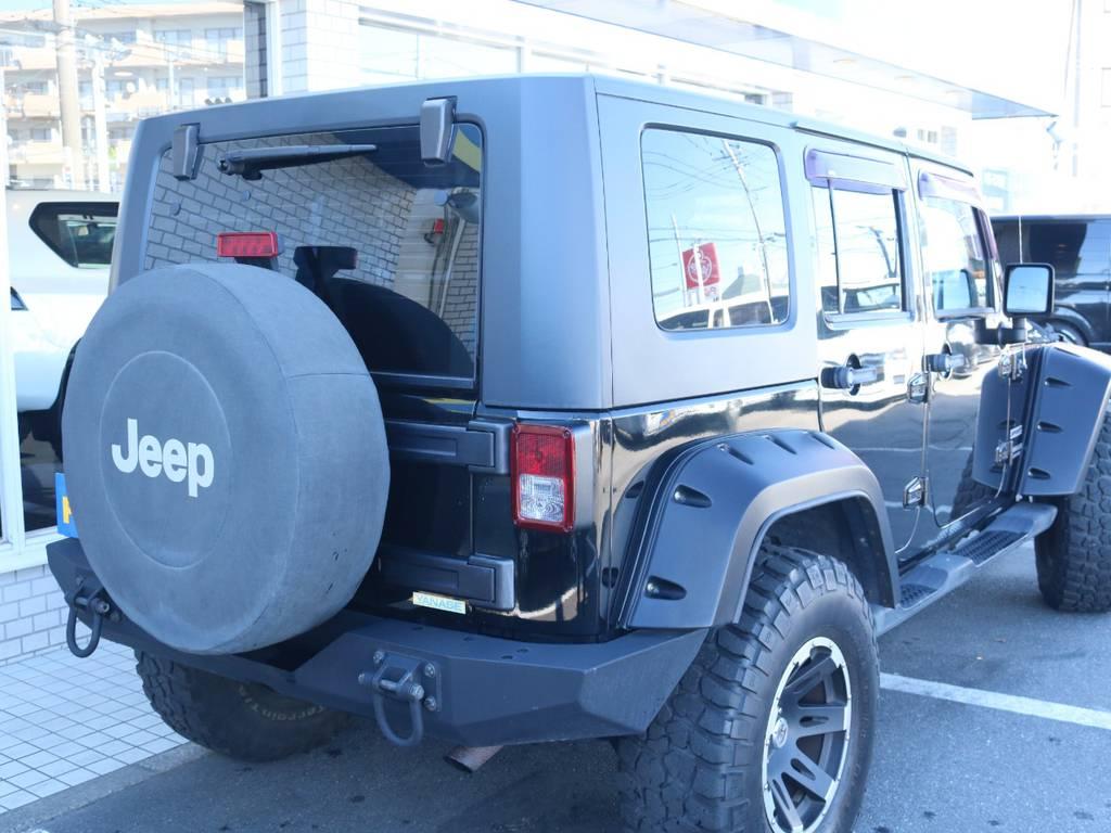 リアもクロカンバンパー交換済み!   ジープ ラングラー アンリミテッド スポーツ 4WD アンリミテッド スポーツ 4WD
