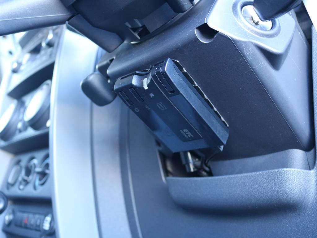 必需品のETCも完備!   ジープ ラングラー アンリミテッド スポーツ 4WD アンリミテッド スポーツ 4WD