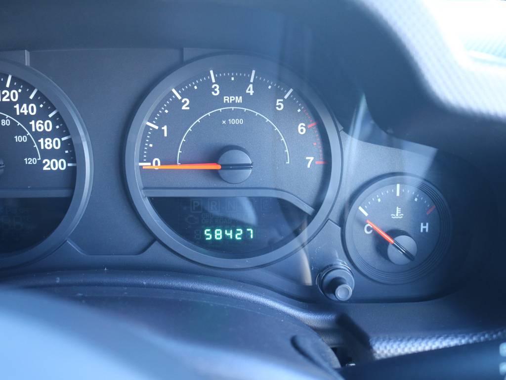距離も58000kmですのでまだまだこれからです!   ジープ ラングラー アンリミテッド スポーツ 4WD アンリミテッド スポーツ 4WD