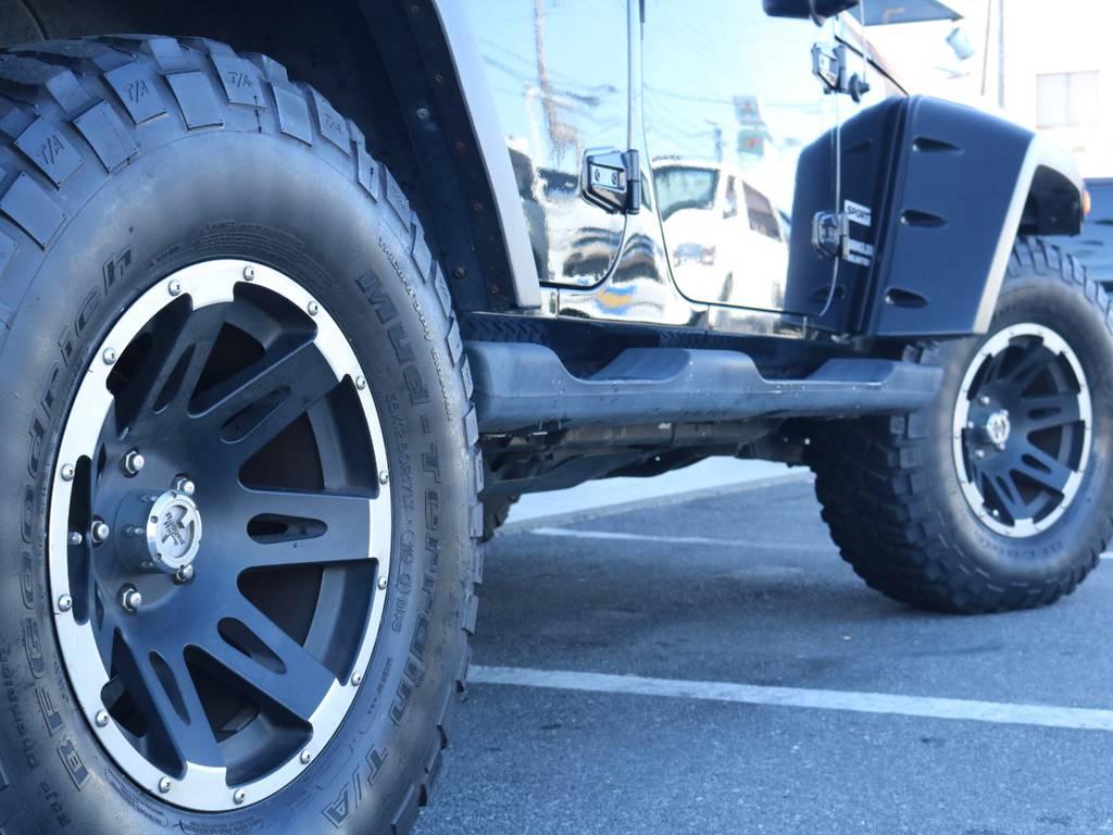 ラギッドリッチ17インチAWにBFグッドリッチMT装着済み!   ジープ ラングラー アンリミテッド スポーツ 4WD アンリミテッド スポーツ 4WD