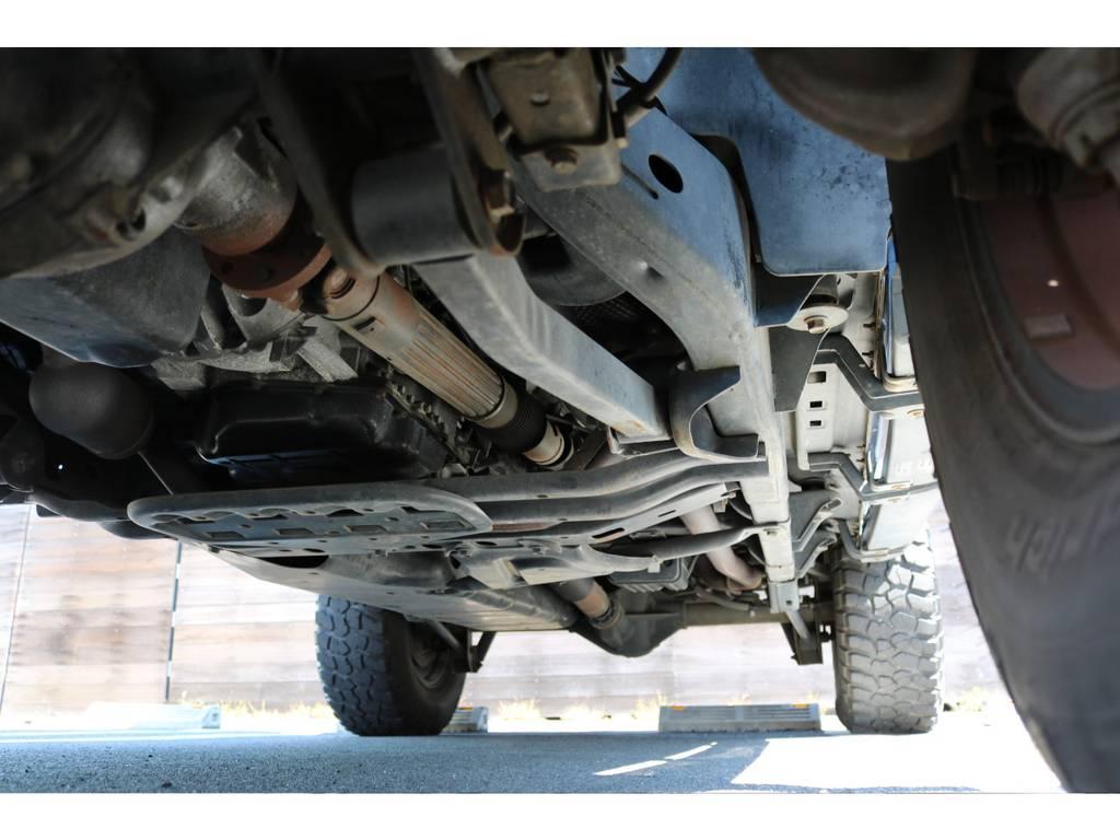 ご希望がございましたら下廻り防腐パスター仕上げもできます!お気軽にご相談ください! | ジープ ラングラー アンリミテッド スポーツ 4WD アンリミテッド スポーツ 4WD