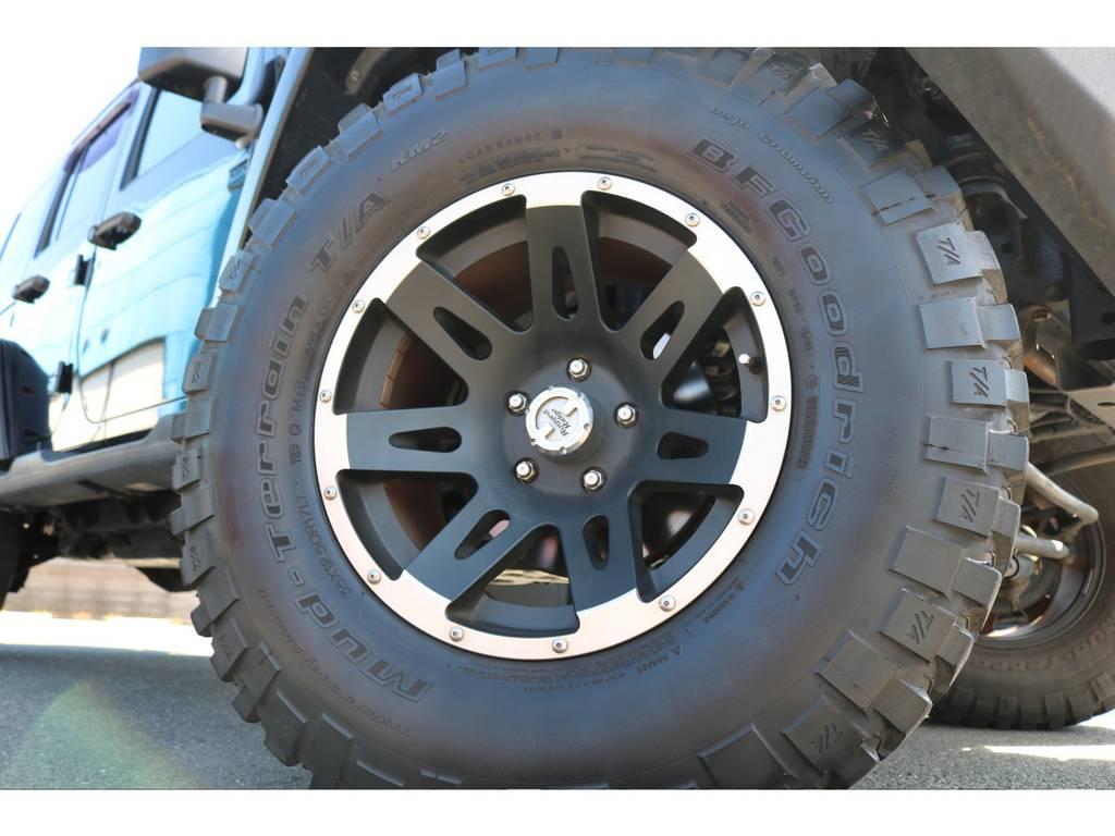 ラギッドリッチ17インチAWにBFグッドリッチMTタイヤが装着済! | ジープ ラングラー アンリミテッド スポーツ 4WD アンリミテッド スポーツ 4WD