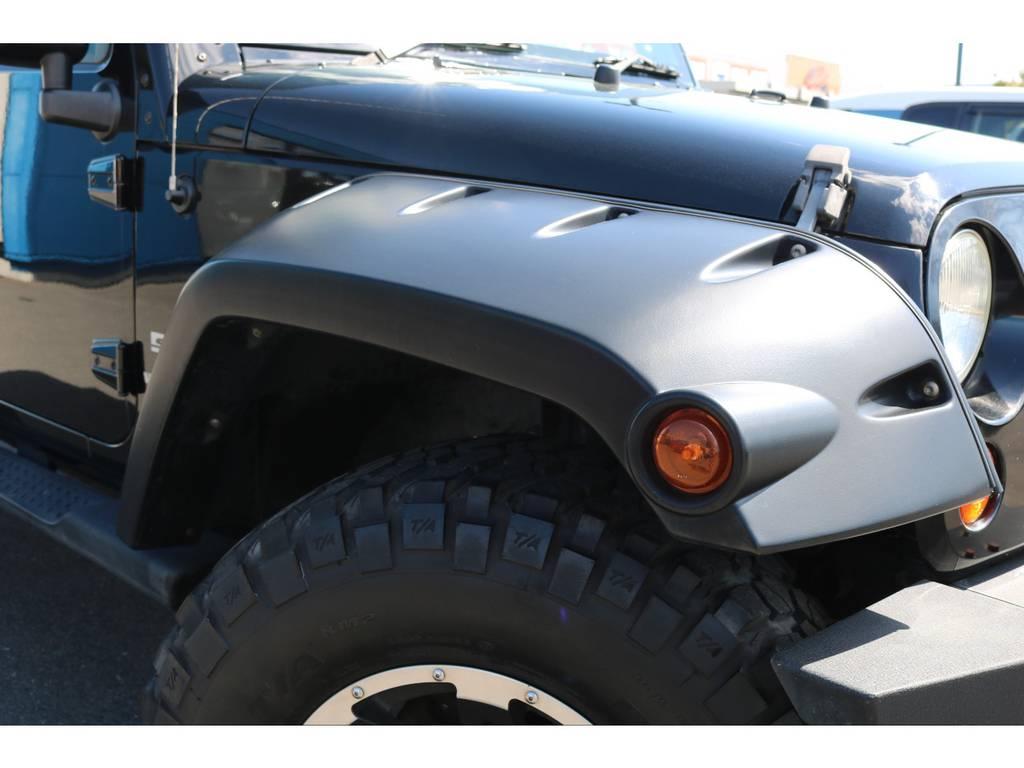ブッシュワーカーオーバーフェンダーに変更でワイルドにカスタム! | ジープ ラングラー アンリミテッド スポーツ 4WD アンリミテッド スポーツ 4WD