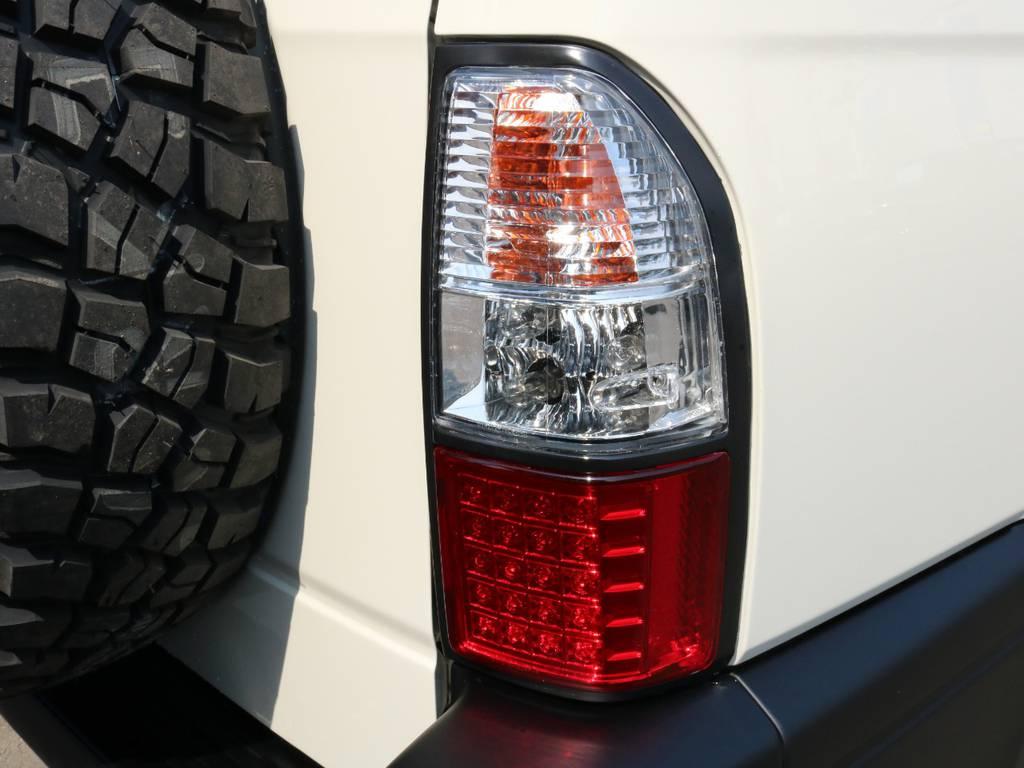 LEDテールランプ交換済み! | トヨタ ランドクルーザープラド 2.7 TX リミテッド 4WD ナロー ペッパーホワイト