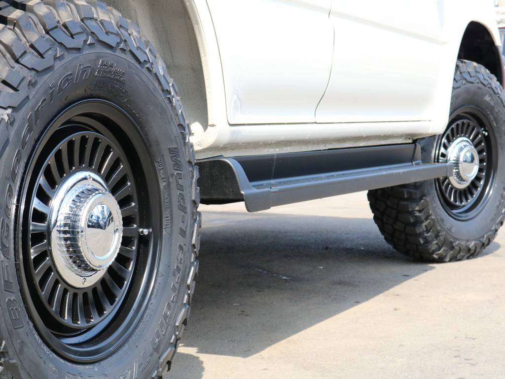 新品DEANクロスカントリーAWにBFグッドリッチMT装着済み! | トヨタ ランドクルーザープラド 2.7 TX リミテッド 4WD ナロー ペッパーホワイト