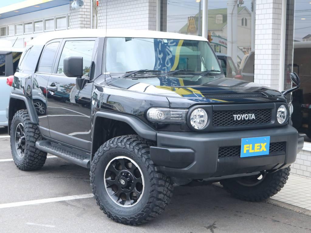 ウインカーレンズ交換済み! | トヨタ FJクルーザー 4.0 ブラックカラーパッケージ 4WD 2UP KM3