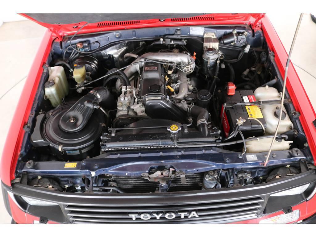 エンジンは78プラドと同じ3000ccディーゼルターボ☆
