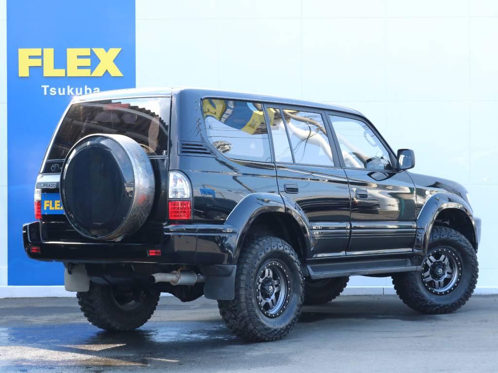   トヨタ ランドクルーザープラド 3.0 TX ディーゼルターボ 4WD 2インチUP MT