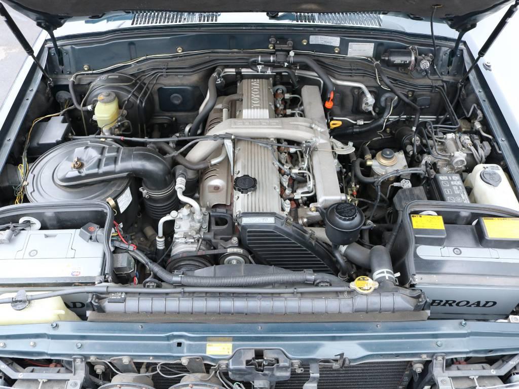 粘りのあるディーゼルエンジン搭載! | トヨタ ランドクルーザー80 4.2 VXリミテッド ディーゼル 4WD ワンオーナー