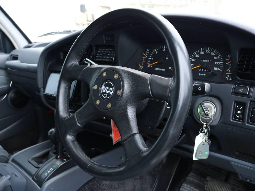 ステアリングも交換済み! | トヨタ ランドクルーザー80 4.2 VXリミテッド ディーゼル 4WD ワンオーナー