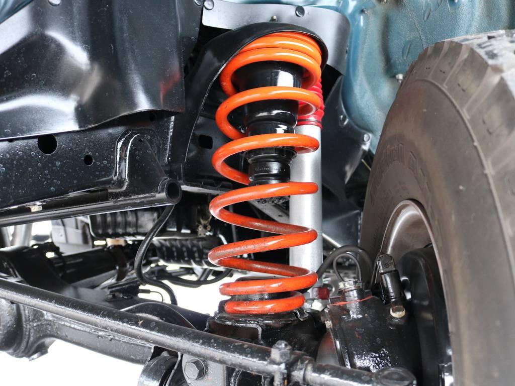2インチUPキット交換済みで足元からリフレッシュ! | トヨタ ランドクルーザー80 4.2 VXリミテッド ディーゼル 4WD ワンオーナー
