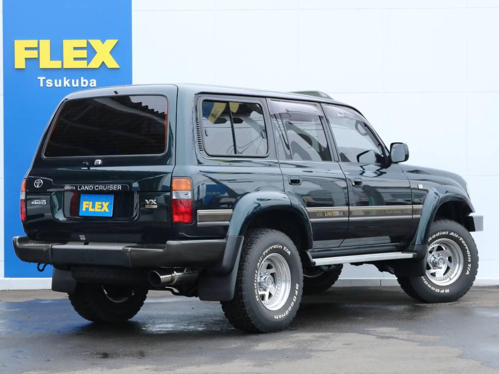 屋根保管とのことで外装もグッドコンディション! | トヨタ ランドクルーザー80 4.2 VXリミテッド ディーゼル 4WD ワンオーナー