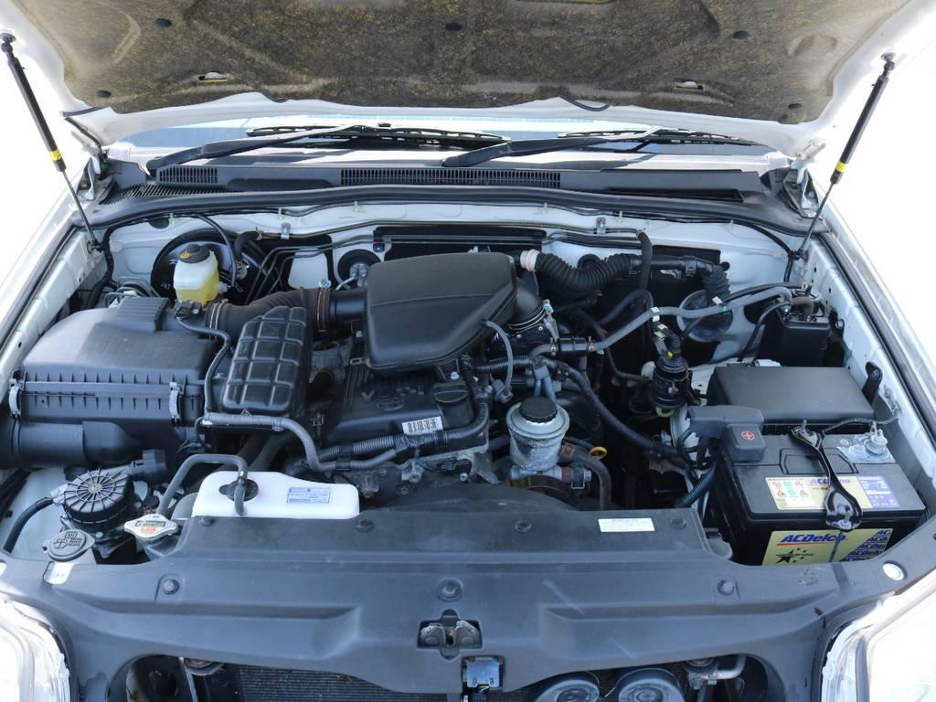 2.7Lの維持費もほどよいエンジン搭載!