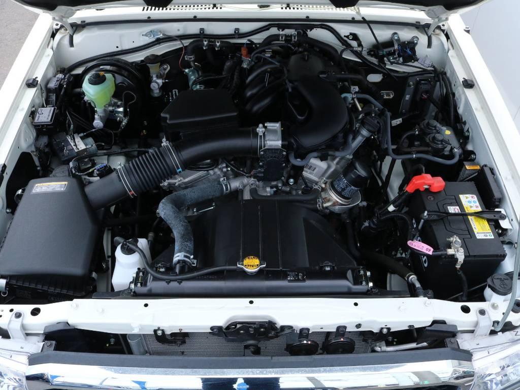 4.0Lガソリンエンジンでパワフルな走行を実現!1ナンバーで維持費も抑えられます!