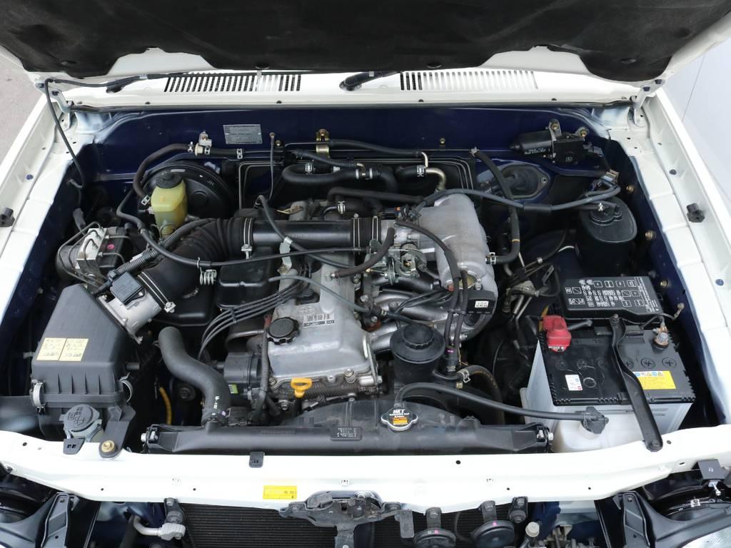 2.7Lエンジンで維持費も抑えられる4WD!