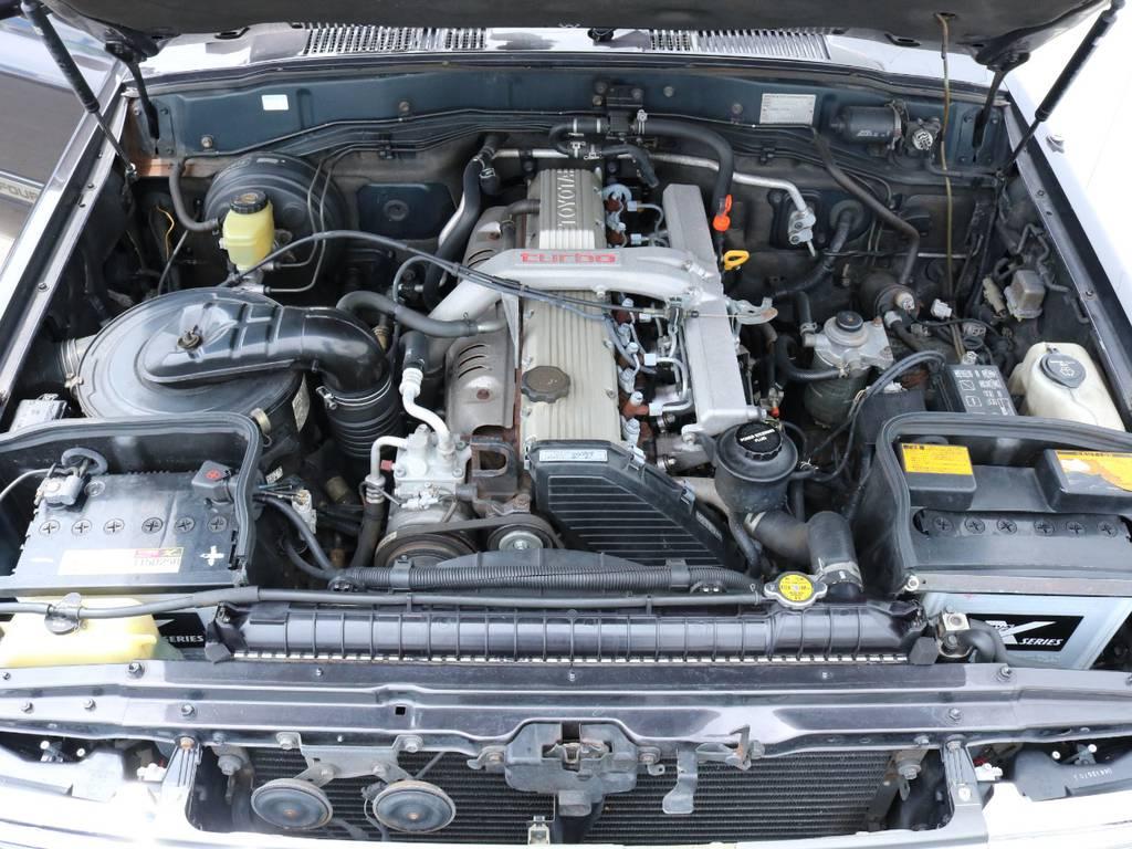 トルクのある4.2Lディーゼルターボエンジン搭載!