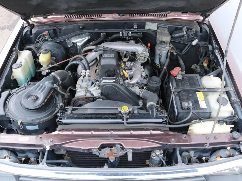 3000ccのパワフルなディーゼルターボエンジン搭載!