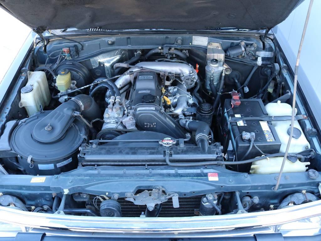 3000ccのトルクのあるディーゼルエンジン搭載!